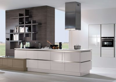 Saphir Weiss Contemporary Kitchen